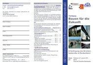 Bauen für die Zukunft - Deutscher Beton- und Bautechnik-Verein eV