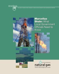 Marcellus Shale: What Local Government Officials Need to Know ...