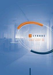 Výroční zpráva společnosti CYRRUS, a.s. za rok 2008