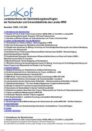 Newsletter Nr. 03/2008 - LaKof NRW