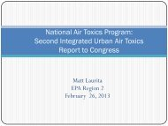 Urban Air Toxics Strategy Report to Congress - MARAMA