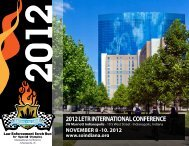 Law Enforcement Torch Run for Special Olympics 2012 Brochure