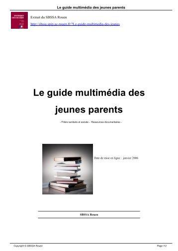 Le guide multimédia des jeunes parents - SBSSA Rouen