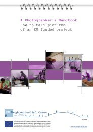 A Photographer's Handbook How to take pictures of an EU funded ...