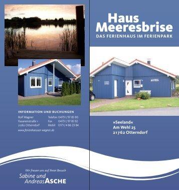 Sabine und Andreasasche - Ferienhaus Meeresbrise Otterndorf