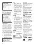 LCD Digital Color TV - Manuals, Specs & Warranty - Sony - Page 2
