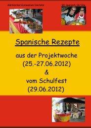 Spanische Rezepte - Märkisches Gymnasium Iserlohn