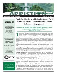 Family Participation in Addiction Treatment - Part 3 - the ATTC Network