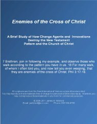 Controversy Confronting the Church: History and ... - Gospel Lessons