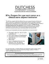 RNs: Prepare for your next career as a clinical nurse adjunct instructor