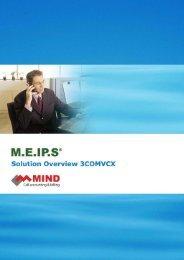 PhonEX ONE Security White Paper - Mind Cti