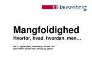 etnolog Søren Møller Christensen, Hausenberg
