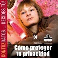 Cómo proteger tu privacidad - AVPD - Euskadi.net