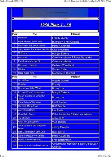 1956 Platz 1 - 30