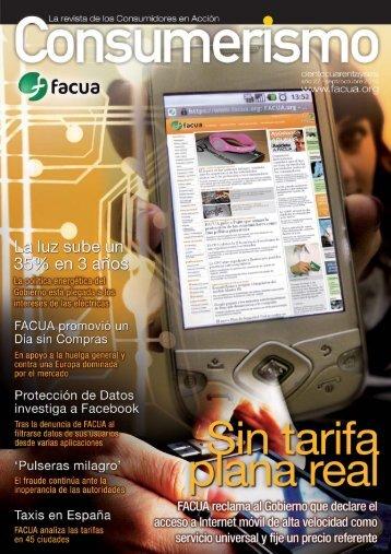 Consumerismo 146 - Facua
