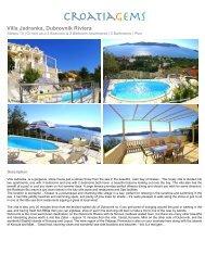 Villa Jadranka, Dubrovnik Riviera - CroatiaGems