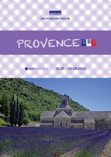 Provence Pur (PDF) - Wendland