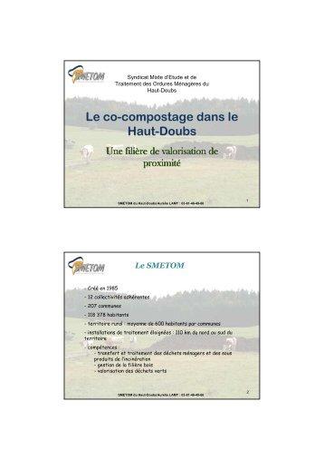 co-compostage dans le Haut-Doubs - Arc Jurassien