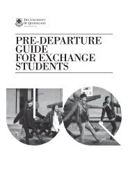 pre-departure guide for exchange students - Study in the UK