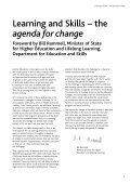 Learning and skills: the agenda for change - the prospectus - Page 3