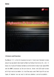 Digimaster 3 User Manual - ECUFactory.com