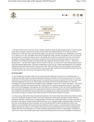Page 1 of 22 Encyclical Letter Lumen fidei of the Supreme Pontiff ...