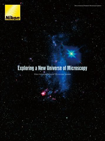 Nikon Advanced Research Microscope Systems - Coherent Scientific