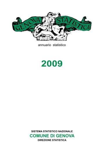 Annuario Edizione 2010 (dati 2009).pdf - STATISTICA - Comune di ...
