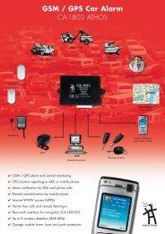 GSM / GPS Car Alarm - Jablotron