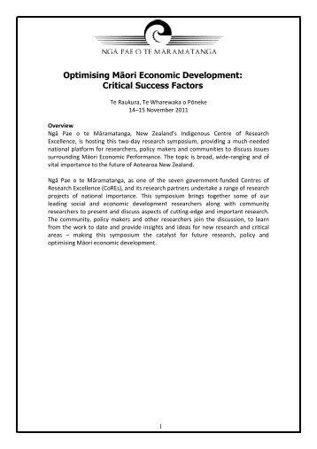 CSRI_MED Programme FINAL.pdf - Ngā Pae o te Māramatanga