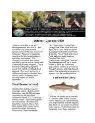 Oct-Dec 2009 - Arkansas Game and Fish Commission