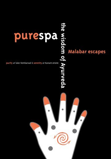 purespa menu - Malabar escapes & The Malabar House
