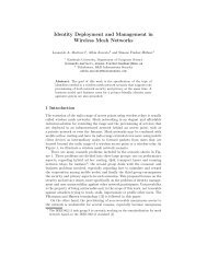 Identity Deployment and Management in Wireless Mesh ... - CiteSeer