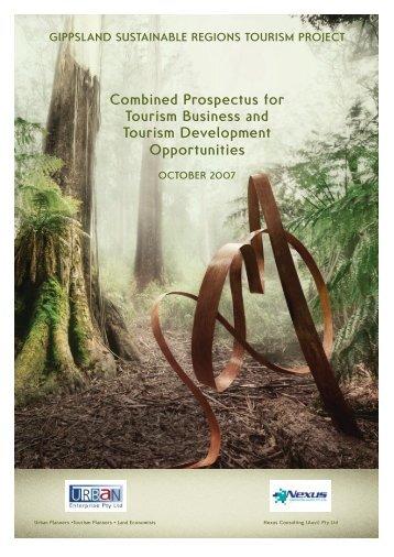 Gippsland Tourism Business and Major Development/Investment