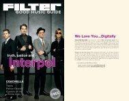 We Love You...Digitally - FILTER Magazine