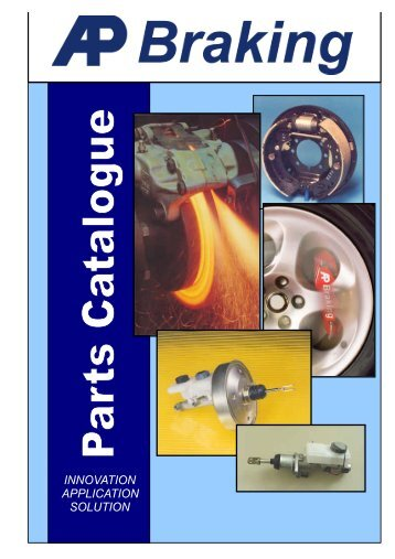 AP Braking Combined Catalogue - Caparo AP Braking