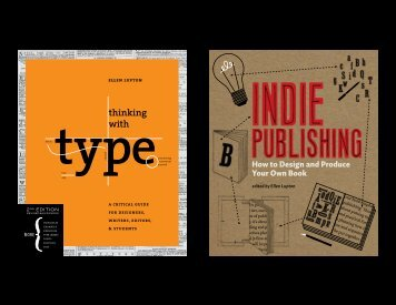 How to Make Beautiful Books - Thinking with Type