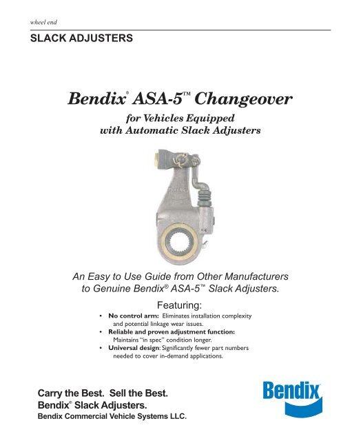 Bendix® ASA-5™ Changeover - Bendix Spicer Foundation Brake