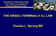 the israeli dying patient law - Chabad.org