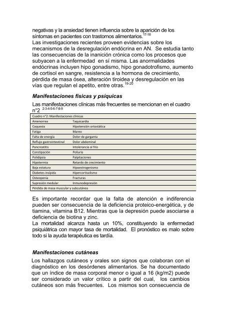 156 Rol del Dermatologo en Anorexia Nerviosa - Antonio Rondón ...