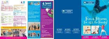 Wildcubs and Wildcats Activ8 Clubs - Castlereagh Borough Council