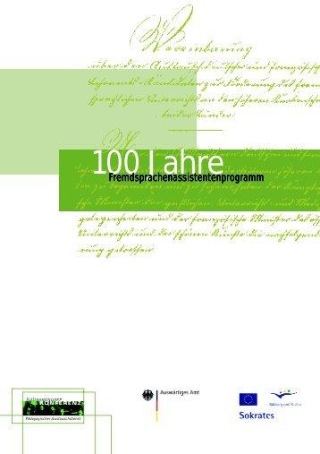 100 Jahre - Pädagogische Hochschule Freiburg