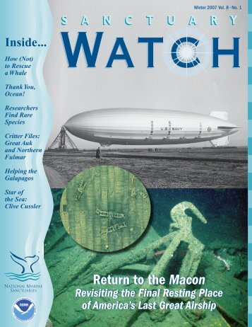 the Macon Return to the Macon - National Marine Sanctuaries - NOAA