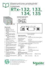 RTx-132, 133, 134, 135 - Schneider Electric Energy Poland Sp. z o.o.