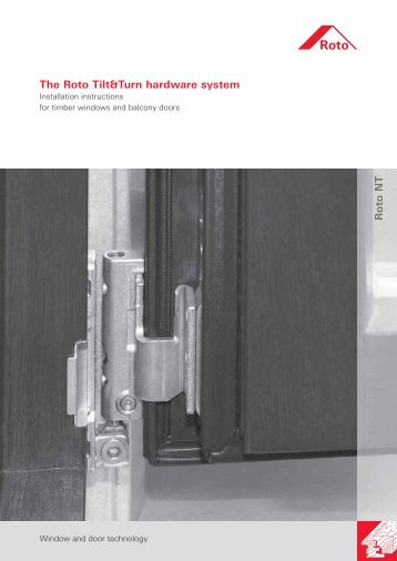 NT Wood Installation Instruction - Roto