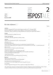 Union Postale - UPU - Universal Postal Union