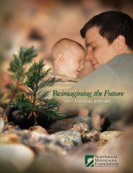 2007 Annual Report - Northwest Minnesota Foundation