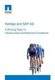 NetApp and SAP AG - Zift Solutions