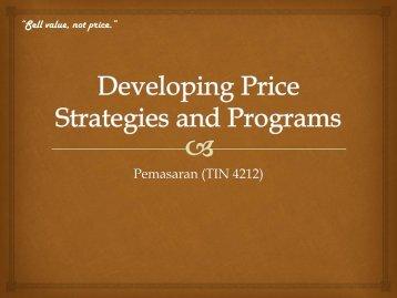 Pemasaran (TIN 4212)