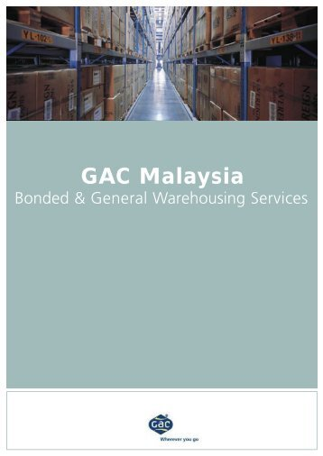 Bonded Warehousing Service - GAC